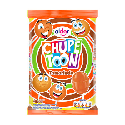 Chupete Chupetoon Tamarindo X 48 Unds