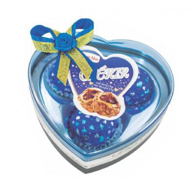 Estuche T3 Corazón Azul