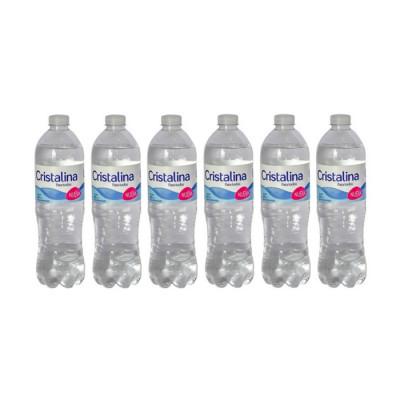 Agua Cristalina X 24 Unidades X 600ml
