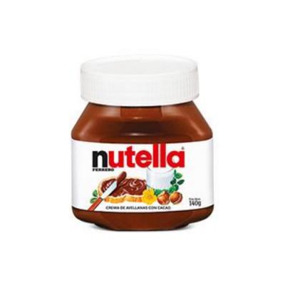 Crema De Avellanas Nutella X 140 Grs
