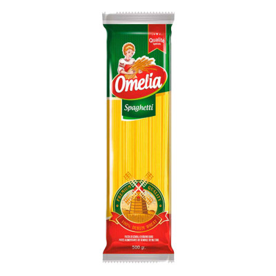 Pasta Omelia Spaghetti X 500 Grs