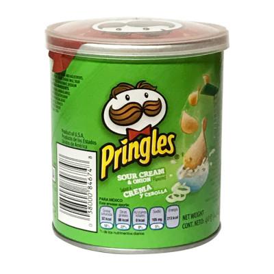 Papas Pringles Crema Y Cebolla X 37 Grs