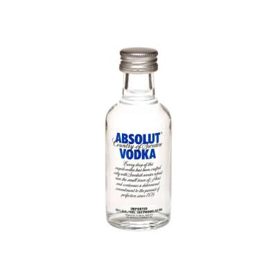 Vodka Absolut Miniatura X 50 Ml