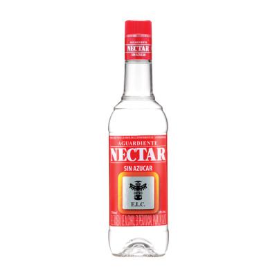 Aguardiente Nectar Rojo X 750  Ml Sin Azucar