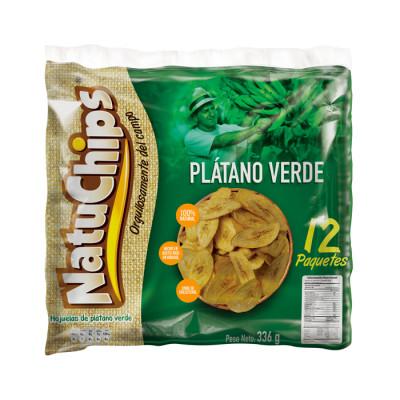 Natuchips Verde 12 Unidades