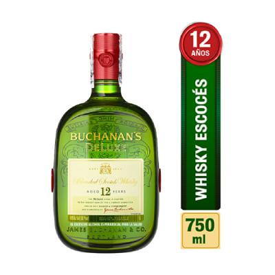Whisky Buchanas 12 Años Promoción Padres X 750 Ml