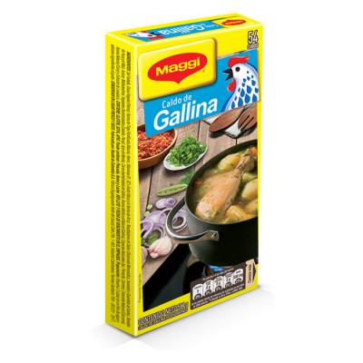 Caldo De Gallina Maggi Cubos X 54 Unds