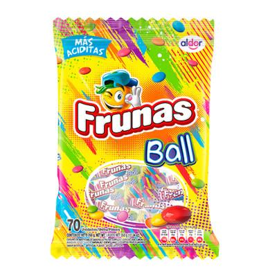 Caramelo Blando Frunas Ball  X 70 Unds