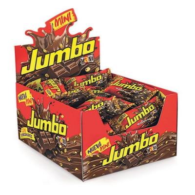 Chocolatina Jumbo Mini X 24 Unds X 18 Grs