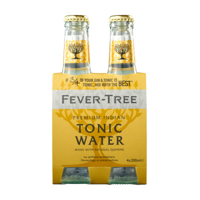 Agua Tonica Fever-tree Indian Tonic Four Pack