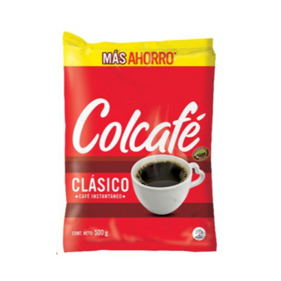Cafe Soluble Colcafe Clasico X 500 Grs
