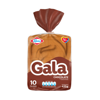 Ponque Gala Bloque Chocolate X 9 Unds