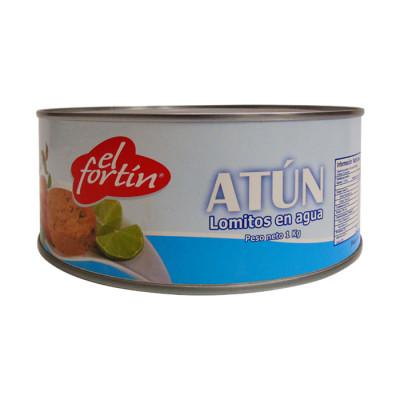 Atun Fortin Lomo Agua Light 1000 Grs
