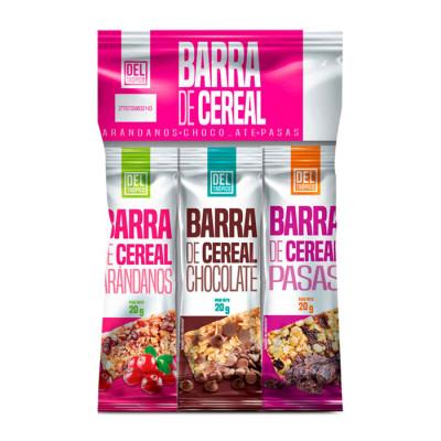 Cereal Del Tropico Barra Surtida X 3 Unds