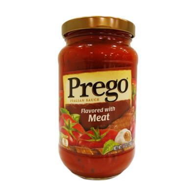 Salsa Prego Roja Con Carne X 396 Grs
