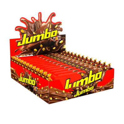 Chocolatina Jumbo Mani X 12 Unds X 100 Grs