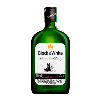 Whisky Black & White X 375 Ml