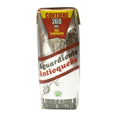 Aguardiente Antioqueño Rojo X 260 Ml