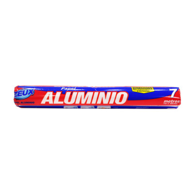 Papel Aluminio Zeux Repuesto Azul X 7 Mts