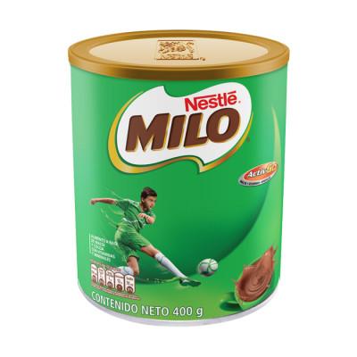 Chocolate En Polvo Milo Nestle Lata X 400 Grs