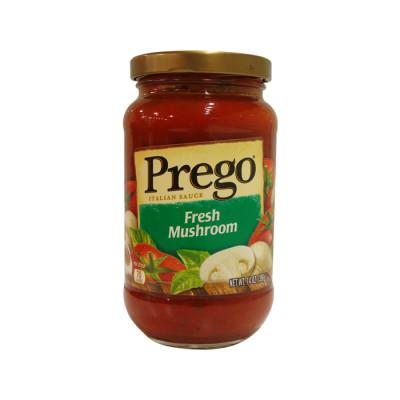 Salsa Prego Roja Champiñones 396 Grs