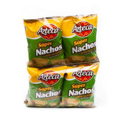Nachos Azteca Jalapeño X 8 Unds X 42 Grs
