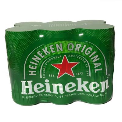 Cerveza Heineken Lata  269 Ml X 6 Unds