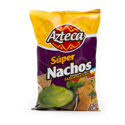 Nachos Azteca Naturales X 180 Grs