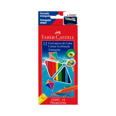 Color  Faber Castell Triangular X 12 Unds
