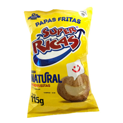 Papas Super Ricas Natural X 115 Grs