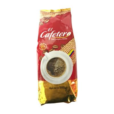 Café Tostado Y Molido El Cafetero X 500 Grs