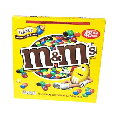 Chocolate M&m´s Peanut 47.9 Grs X 48 Unds