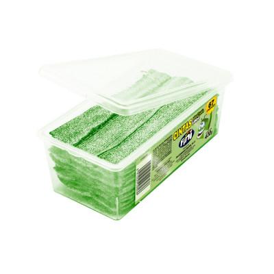 Gomas Fini Cintas Manzana Verde X 400 Grs