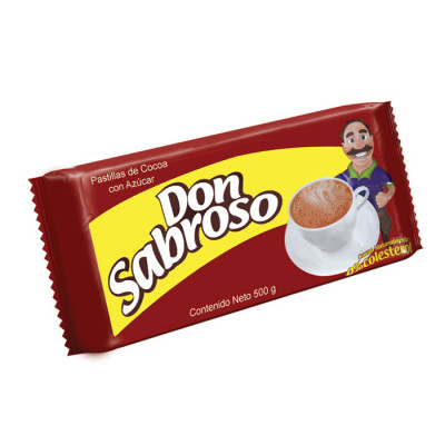 Chocolate Don Sabroso X 500 Grs