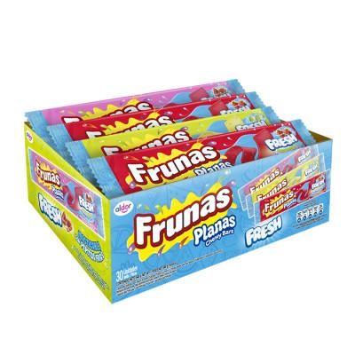 Caramelo Blando Frunas Plana Fresh Xl X 30 Unds