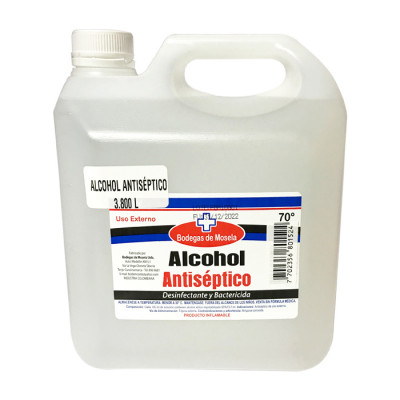 Alcohol Antiséptico Mosela X 3800 Ml