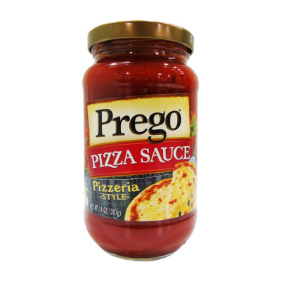 Salsa Prego Roja Sabor A Pizza 397 Grs