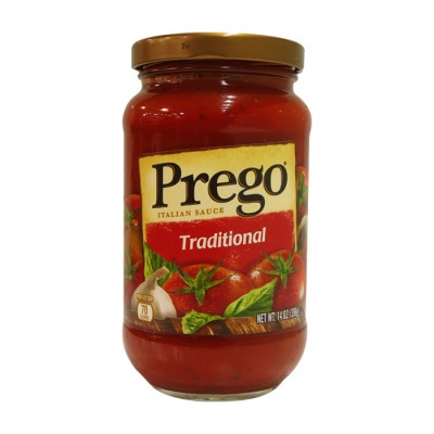 Salsa Prego Roja Tradicional X 396 Grs