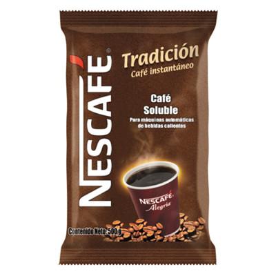 Café Instantáneo Nescafé Alegria Tradición Bolsa X 500 Grs