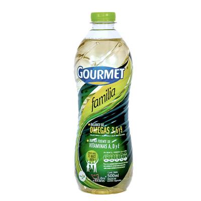 Aceite Gourmet Familia X 500 L