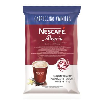 Cappuccino Vainilla Nescafé Alegria Bolsa X 1000 Kg
