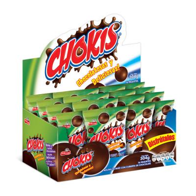 Bolitas De Chocolate Chokis X16 Unidades