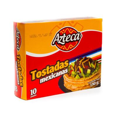 Tostadas Mexicanas Azteca X10 Unds X 150 Grs