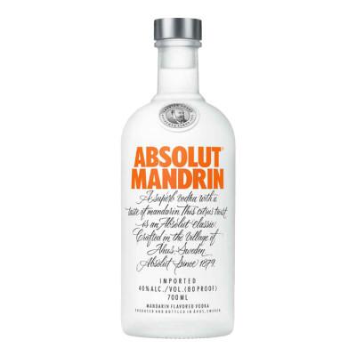 Vodka Absolut Mandrin X 700 Ml