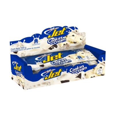 Jet Cookies And Cream Grande X 6 Undades X 50 Grs