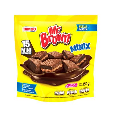 Brownie Minix Bimbo 310 Grs X 15 Unds
