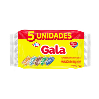 Ponque Gala Surtido X  5 Unds