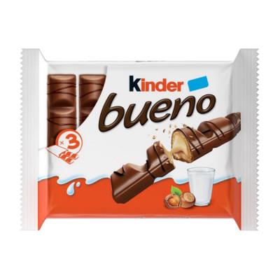 Chocolate Relleno Kinder Bueno X 3 Unds