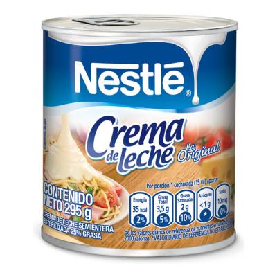 Crema De Leche Nestle Lata X 295 Grs