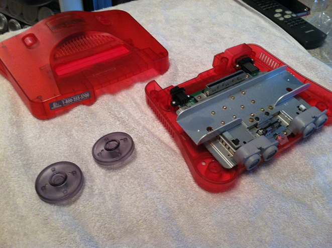 clean the n64 part 1 finished